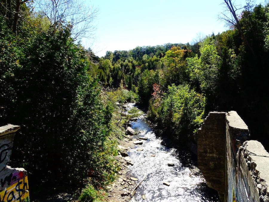 Credit river gorge at Forks of the Credit provincial park.